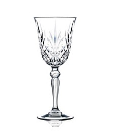 Melodia Crystal Wine Glass - Set of 6
