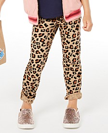 Little Girls Leopard-Print Jeans, Created for Macy's