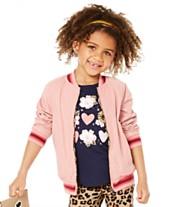 2fd67f40d Epic Threads Little Girls Reversible Bomber Jacket, Created for Macy's