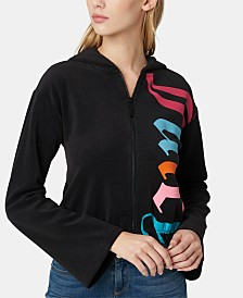 Juicy Couture Zip-Up Track Hooded Jacket