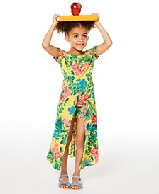 Toddler Girls Floral-Print Walkthrough Romper Dress, Created for Macy's