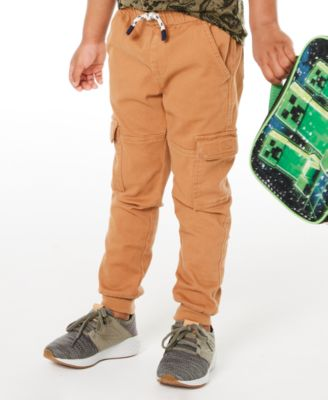 Toddler Boys Twill Cargo Jogger Pants, Created for Macy's
