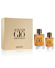 Giorgio Armani Men's 2-Pc. Acqua di Giò Absolu Eau de Parfum Gift Set