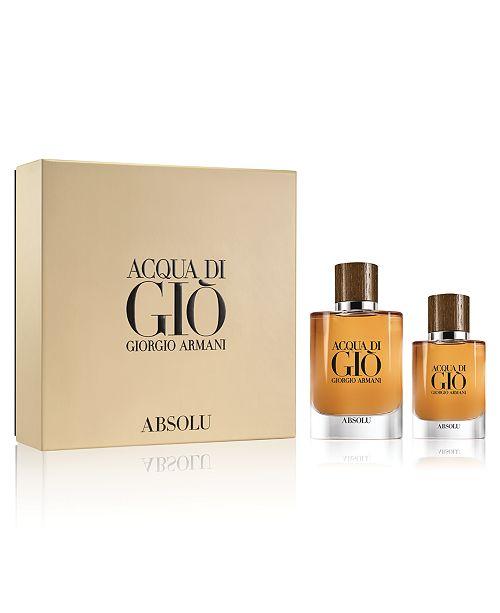 Giorgio Armani Men's 2-Pc. Acqua di Giò Absolu Eau de Parfum Gift Set