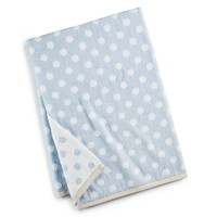 Deals on Martha Stewart 30x54-in Cotton Dot Spa Fashion Bath Towel