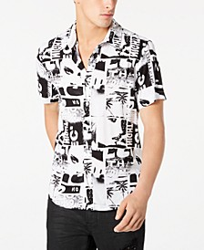 Men's Rogan Polaroid-Print Shirt