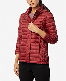 Packable Hooded Down Puffer Coat