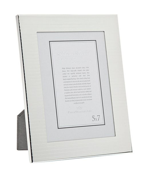 """Philip Whitney Etched Stripes Frame - 4"""" x 6"""""""