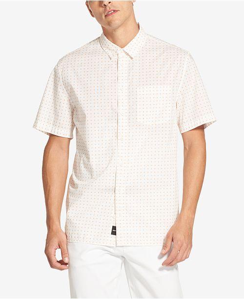 DKNY Men's Mini Geo-Print Shirt