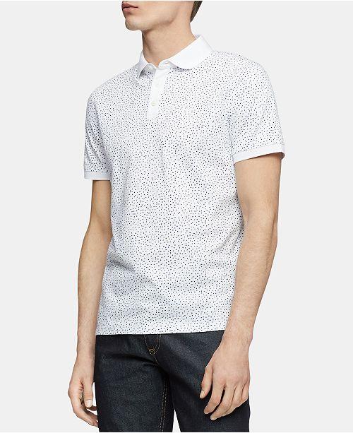 Calvin Klein Men's Printed Polo Shirt