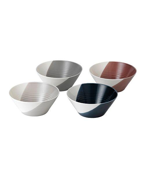 "Royal Doulton Bowls Of Plenty Bowl Set/4 8"""