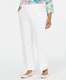 Plus Size Cayman Islands Straight-Leg Pants