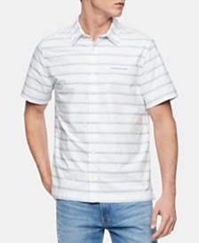 Calvin Klein Jeans Men's California Stripe Shirt