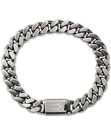 Men's Chain Bracelet in Stainless Steel