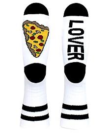 SOCK TALK Ladies' Crew Socks PIZZA LOVER