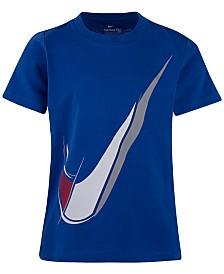 Nike Toddler Boys Swoosh Logo Cotton T-Shirt