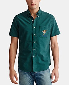 Polo Ralph Lauren Men's Classic Fit Cotton Bear Shirt