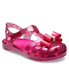 Crocs Baby, Toddler and Little Girls Isabella Bow Sandal K