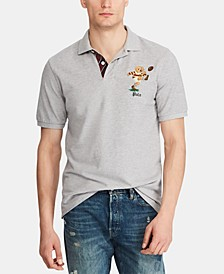 Men's Big & Tall Classic Fit Rugby Bear Polo