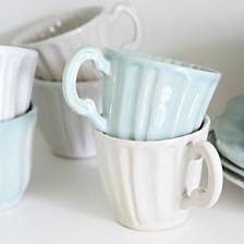Vietri Incanto Stone Set/4 Assorted Mugs