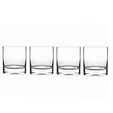 Glassware, Set of 4 Classico Double Old Fashioned Glasses