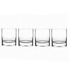 Glassware, Set of 4 Classico Double Old Fashioned Glasses