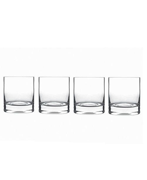Luigi Bormioli Glassware, Set of 4 Classico Double Old Fashioned Glasses