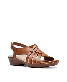 Clarks Collection Women's Loomis Cassey Sandals