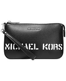 MICHAEL Michael Kors Logo Pouchette Wristlet