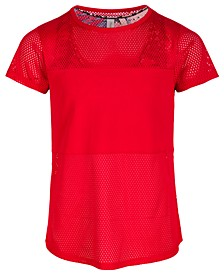 Big Girls Active Layered-Look T-Shirt, Created for Macy's