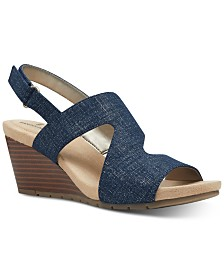Bandolino Gannet Wedge Sandals