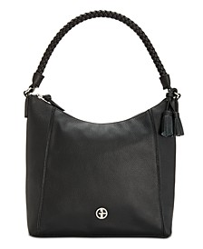 Braid Handle Pebble Hobo, Created for Macy's