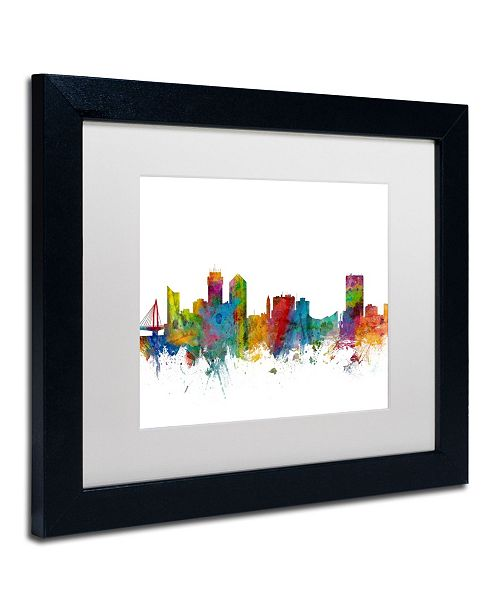 Home Decor Wichita Ks: Trademark Global Michael Tompsett 'Wichita Kansas Skyline