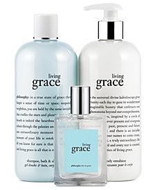 philosophy living grace fragrance collection