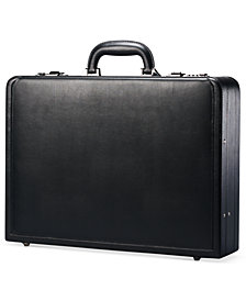 Samsonite Leather Expandable Attache