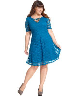 Junior Plus Size Cocktail Dresses - 0093OWZX