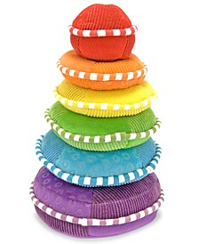 Kids Toys, Plush Rainbow Stacker