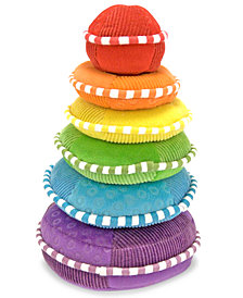 Melissa and Doug Kids Toys, Plush Rainbow Stacker