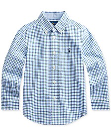 Little Boys Stretch Poplin Shirt