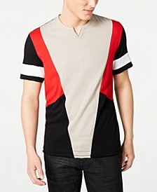Men's Starlit Pieced T-Shirt