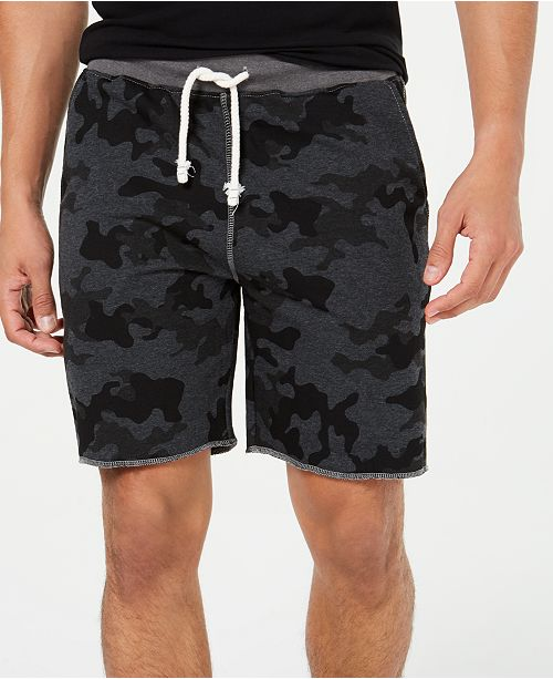 Univibe Men's Camo Knit Shorts