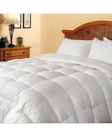 300 Thread Count White Down/ Feather Comforter, Full/Queen