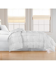 Blue Ridge Oversized White Goose Feather/Down Comforter Collection
