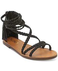 Cancun Braided Flat Sandals