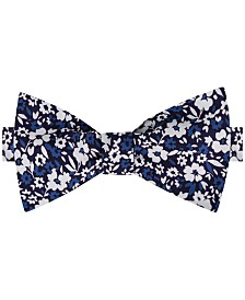 Tommy Hilfiger Men's Chelsea Botanical To-Be Tied Silk Twill Bow Tie