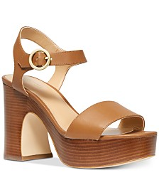 MICHAEL Michael Kors Fiona Platform Dress Sandals