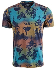 American Rag Men's Knockout Floral Graphic T-Shirt, Created for Macy's