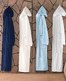 Enchante Home Hooded Turkish Cotton Bathrobe