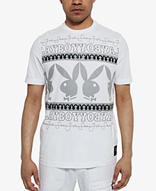 Men's Playboy Collection Wrapped Logo T-Shirt
