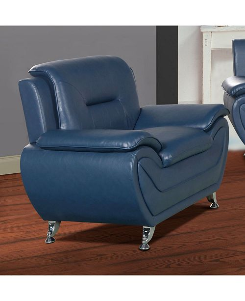 US Furnishings Express Elliot Collection Faux Leather Chair